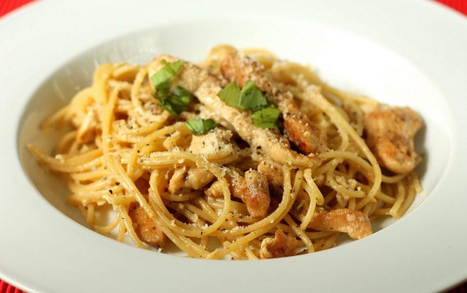 receta de espaguetis a la carbonara