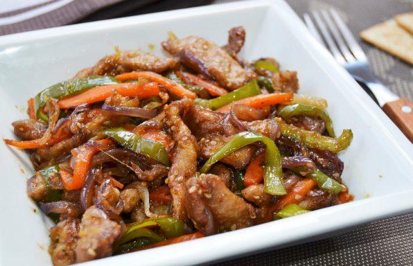 receta de pollo oriental