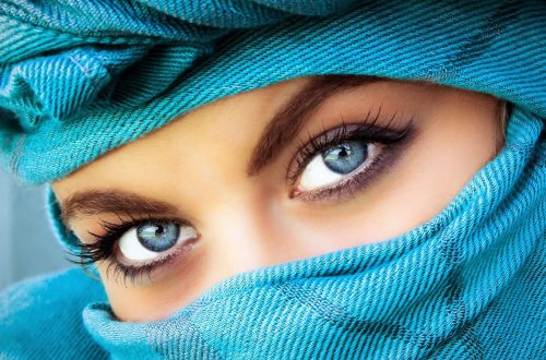 como maquillar ojos azules