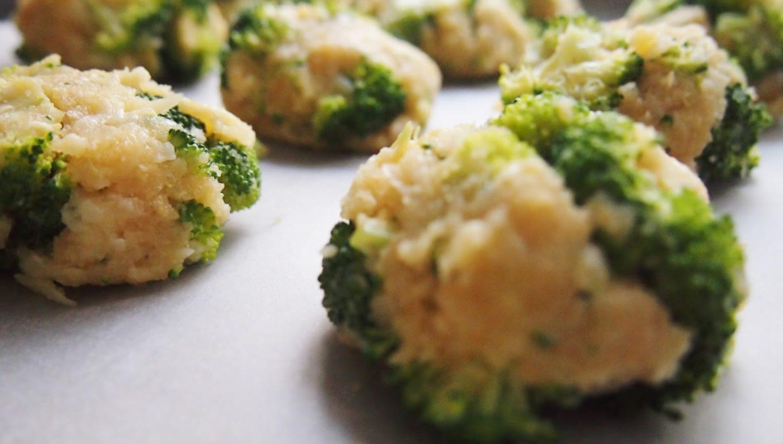 receta vegetariana albóndigas de brócoli