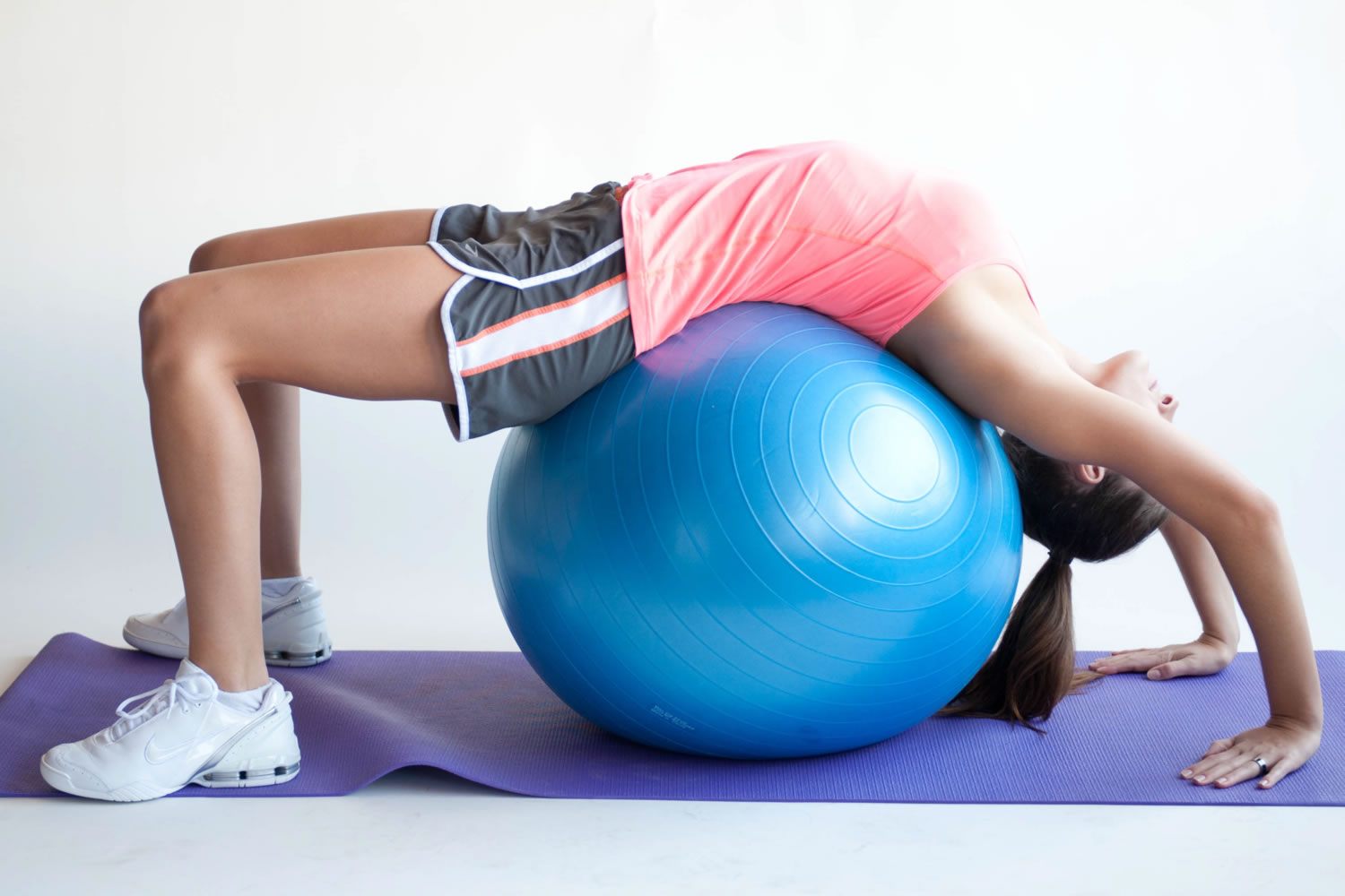 fitball abdominales