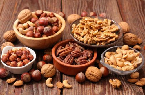 los frutos secos en una dieta sana