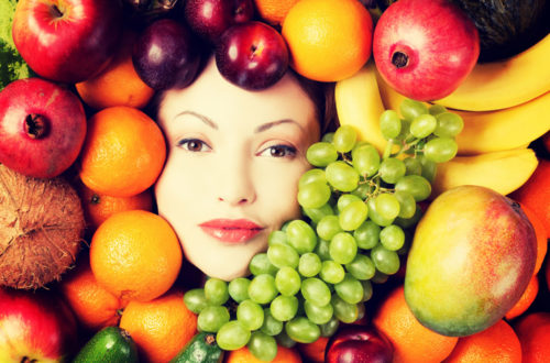 uso de la fruta en la cosmética