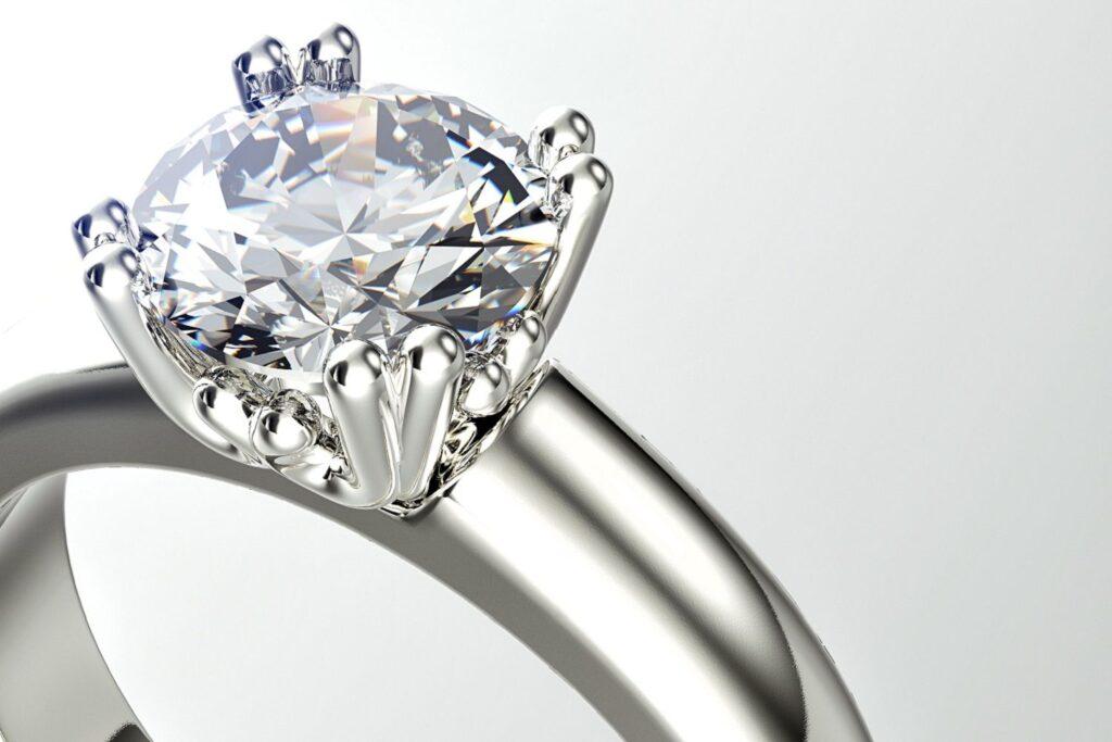 diamante para anillo de boda