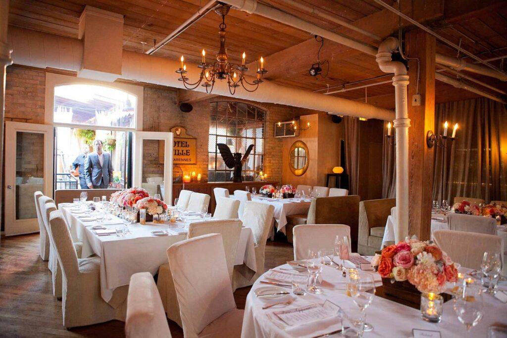 preguntas para escoger un restaurante nupcial