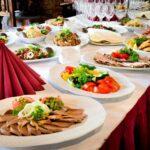planificación de un banquete de bodas