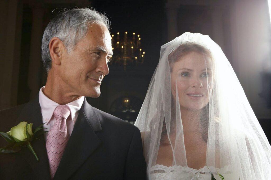 papel del padre de la novia en una boda