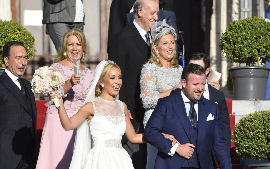 rol, de los padres de los novios en una boda