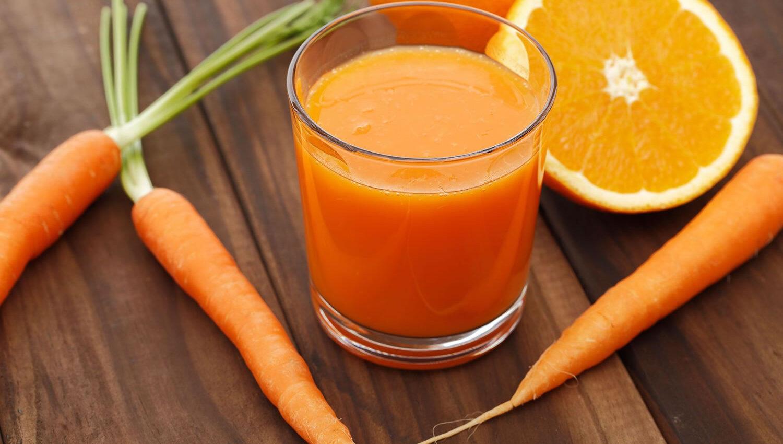 Batido de naranja y zanahoria