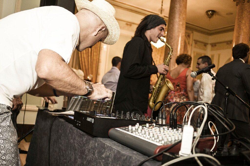 dj para música de boda